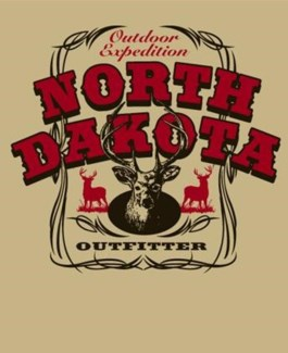 ND Outdoor Exp. Deer Tan Tee M